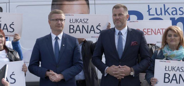 Matyjaszczyk popiera Banasia do Senatu
